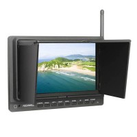 Feelworld FPV-758 Monitor Ground Station FPV 7 inch Monitor Built-in 5.8G Receiver