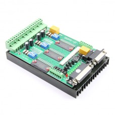 JP-3136B Stepper Motor Driver TB6560 3 axis 0-10V Spindle regulation w/ 24V 6.5A Power supply for CNC Engraving Machine