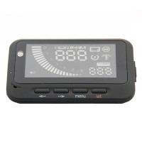 Multi Car HUD Vehicle-mounted Head Up Display System  OBD II Fuel Consumption Overspeed Warning