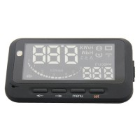 V2 Car HUD Head Up Display Vehicle-mounted System OBD2 Overspeed Warning