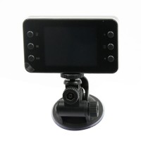 "K6000 Vehicle Blackbox DVR 2.7"" TFT 3.0MP CMOS Car DVR w/ G-sensor Full HD Black Box Camera"
