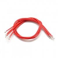 5pcs 20cm Red Pre-crimped Cables for DF13 Connectors APM 2.6 PX4 Pixhawk Flight Control