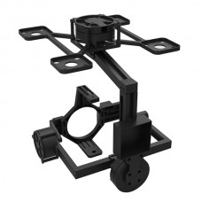 FPV 360 deg 3 Axis Brushless Camera Gimbal Camera Mount PTZ w/ 3pcs Motor f/ 5DII 5D2 DSLR Aerial Photography