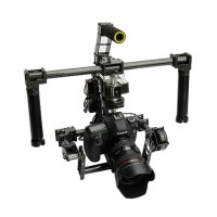 3-axis Handheld FPV 2 in1  Brushless Gimbal Camera Mount Full Set for 5DII 5DIII 7D Cameras FPV Aerial Photography
