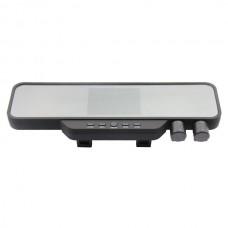 "X888 Rearview Mirror Night Vision Dual Camera HD Car DVR 3.5"" TFT LCD Screen Camcorder"