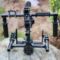 HIFLY 3-Axis Gimbal Brushless Handheld Gimbal Copter Stabilizer 5208-200T Newest Version
