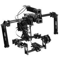 FPV Handle Carbon Fiber 3-Axis Brushless Gimbal Camera Mount Stabilizer Assembled Full Set
