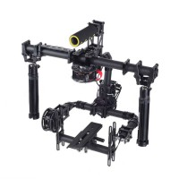 TZT 3 Axis Handle Brushless Gimbal for Canon 5D3 Full Set Folding Multi-functional Handheld Assembled