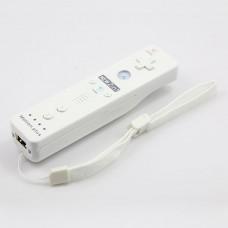 Wireless Motion Plus Remote Controller+Silicone Case +Wristband for Nintendo Wii White