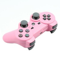 Replacement ABS Full Case for PS3 / PS3 Slim / PS3 4000 Controller - Electroplating Pink