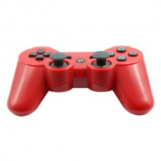 Replacement ABS Full Case for PS3 / PS3 Slim / PS3 4000 Controller - Electroplating Red