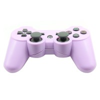 Replacement ABS Full Case for PS3 / PS3 Slim / PS3 4000 Controller - Electroplating Purple