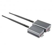 BADA 2.4GHz 3.5W 6-CH Stereo Wireless Audio/Video AV Transmitter & Receiver Kit 3500mw (100V~240V AC)