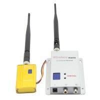 Fox-1.5W 1.2G 1.5W Wireless Transmitter Receiver Kit 1500mw FPV Video Transmission Monitoring CCTV Camera