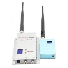 Fox-700 1.2G 0.7W Wireless Transmitter Receiver Kit 700mw FPV Video Transmission Monitoring CCTV Camera