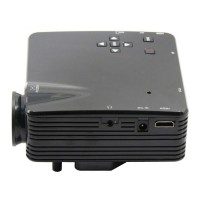 LZ-H80 Personal Game Projector Micro Multimedia LED Projector - Black