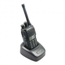 WEIERWEI V1000 Walkie Talkie UHF+VHF 5W 128 CH Scrambler DTMF VOX ANI Code FM Portable Two-Way Radio