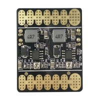 3V 20V Adjustable Voltage Dual BEC Output Board 100A ESC Power Distribution Board Connection Board