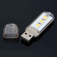 USB LED w/ Shell Bright Light for Lamp Laptop Notebook Portable Bright PC Computer