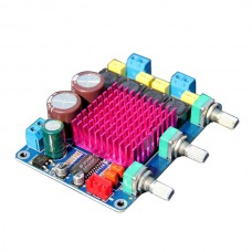 Assembled HiFi D Class Digital Amplifier Board LM1036N + TDA7492 2*50W Amp Board