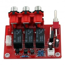 YJ Three-way Input Audio Input Switching Board for Amp Amplifier Board