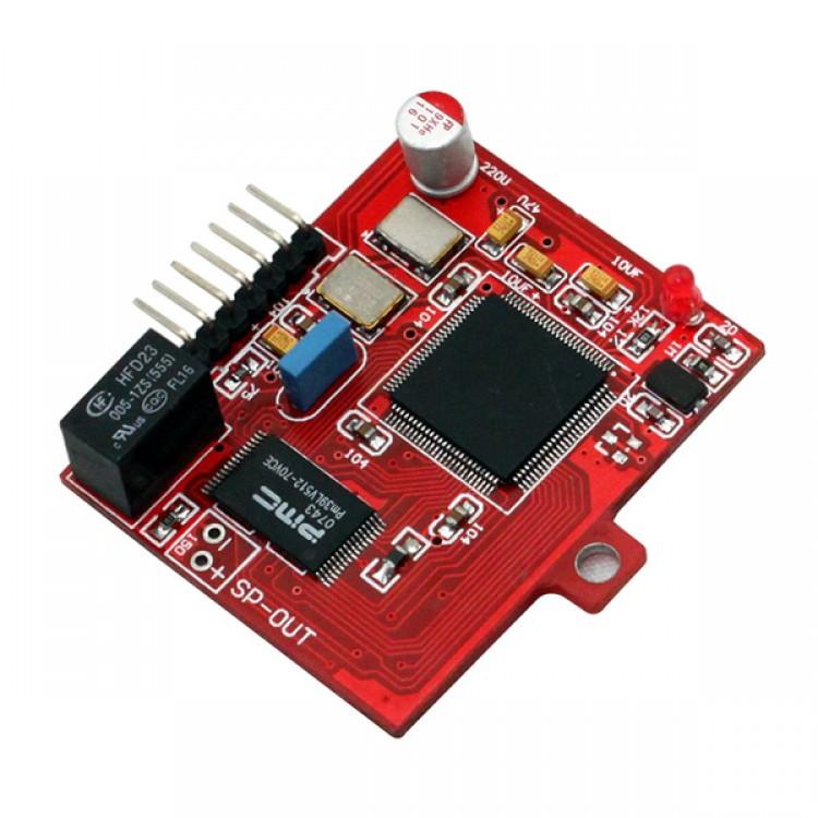 cm6631 sound card for tda1541 ak4399 parallel connection