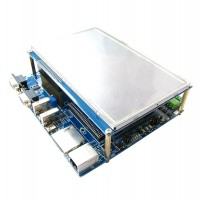 LPC4357 Development Board  204 MHz M4 M0 Dual Core Processor USB Internet with 7 inch LCD Screen