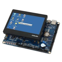 "Arm 11 S3C6410 OK6410-A Development Board+4.3""LCD (256M RAM,2GB FLASH) Kit"