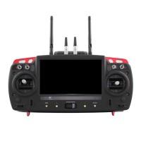 2.4G AIO Skylark 7 inch FPV Monitor 433MHZ 12CH Digital Radio Control System OSD Transmitter for FPV