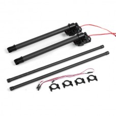 TZT 360 deg Universal Electronic Retractable Landing Skid Gear for 16/20/22/25mm Hexacopter & Octacopter
