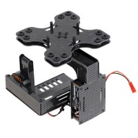 SteadyMaker FPV 2 Axis Brushless Gimbal Assembled for N5 N7 FPV ILDC Camera Aerial Photography