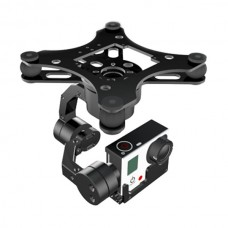 X-CAM X100B-3H 3 Axis Brushless Gimbal Gopro 3  FPV Aerial Camera Mount PTZ Automatic Stabilizer