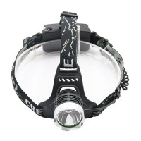 TZT 201 Outdoor CREE XML T6 LED Headlamp Headlight 1600 Lm Flashlight torch +Charger