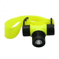 1800 Lumen CREE T6 LED 3xAAA/18650 Waterproof Swimming Headlamp Headlight Diving 80M