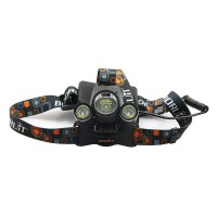 Newest High Lumen LED Headlamp Head Light Torch Lamp 4.2V 3800lm Cree XM-L T6 3 mode headlight for Hunting Camping