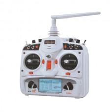 Walkera DEVO 12E 2.4GHz 12 Channels Transmitter White With RX1202