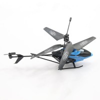 S31 Eagle 3CH Helicopter Remote Control 2.4 Ghz Heli with Transmitter Remote Control Blue