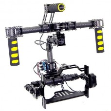 3 axis 5D MK3 5D2 Camera DSLR Handle Brushless Gimbal w/Controll & Motors Ready to Use