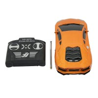 2833 Toy Car 4 Channel Remote Control High Simulation Model Car Children Gift Orange