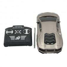 2833 Toy Car 4 Channel Remote Control High Simulation Model Car Children Gift Silver