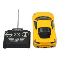2833 Toy Car 4 Channel Remote Control High Simulation Model Car Children Gift Yellow