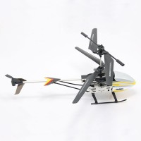 117 3.5CH 2.4G Heli 360Degree Full Control Rotor RC Helicopter with LED Light Yellow
