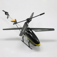 117 3.5CH 2.4G Heli 360Degree Full Control Rotor RC Helicopter with LED Light Black