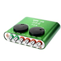 Brand New XOX KX2 KX-2 Net Singer USB External Sound Card Network K Song - Green