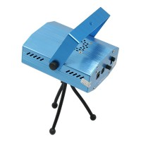 S09C Red / Green Mini Laser Stage Light / Lamp Disco KTV Projector Lighting - Blue (100~240V)