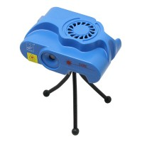S10RG Blue Mini Projector DJ Disco Light Stage R&G Party Disco Laser Lighting Show Plug