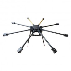 HY-1200 1200mm FPV Octa Multi-rotor Folding Fiberglass Aluminum Octocopter Frame w/ Landing Gear for FPV
