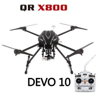 Walkera QR X800 GPS FPV RC Quadcopter With DEVO 10 Transmitter