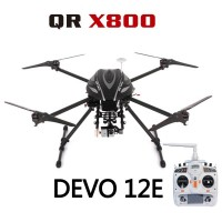 Walkera QR X800 GPS FPV RC Quadcopter With DEVO 12E Transmitter