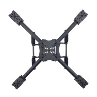TZT X400 3K Carbon Fiber Mini Quad 4 Axis Quadcopter Aircraft Frame Kit